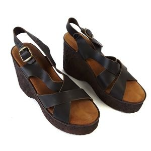 Sbicca Boho Chic Earthy Wedges